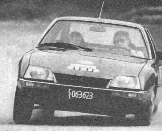 Citroën CX 2000 Athena 1981