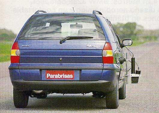 Amortiguador para portón trasero Fiat Palio Weekend
