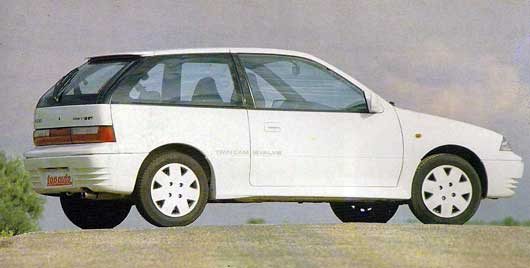 Suzuki Swift GTI-1992 Test