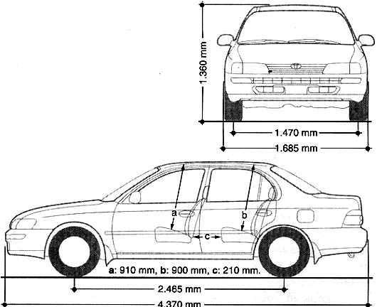 TOYOTA Car Radio Wiring Connector further Toyota Ta a Fuse Box Diagram 414521 additionally P 0900c15280061303 further 2001 Toyota Corolla Headlight Wiring Diagram likewise T25642624 Honda cr v mj12 fsv fuel filter location. on 1999 toyota corolla manual